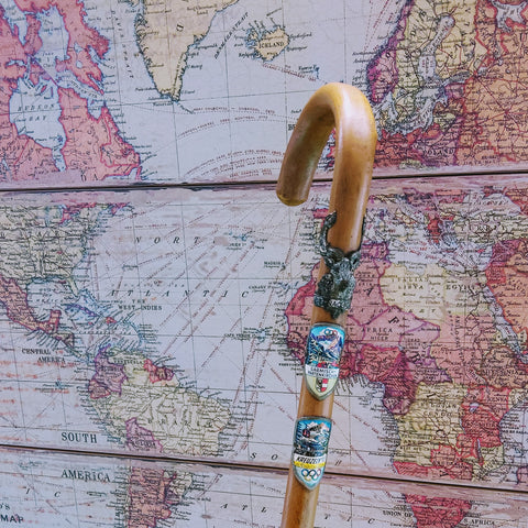 Vintage German Walking Cane