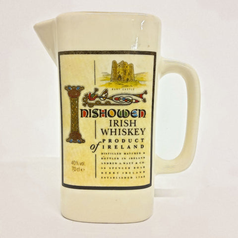 Inishowen Irish Whiskey Pitcher