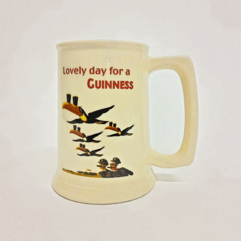 "Vintage Guinness ""Lovely Day..."" Beer Stein"