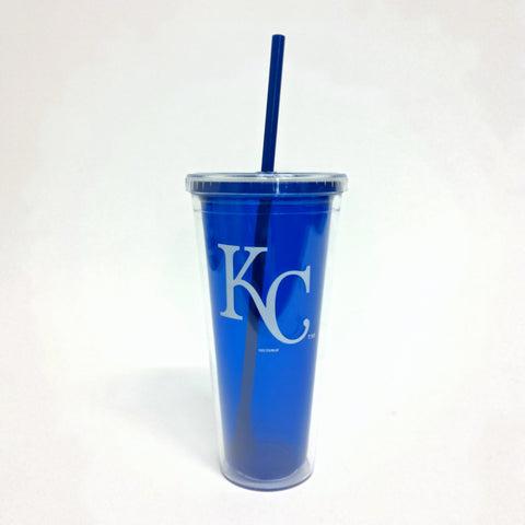 Royals Blue Travel Tumbler