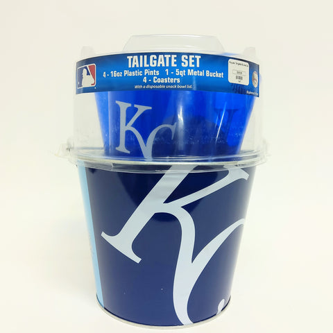 Royals Tailgating Bucket Set