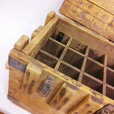 Upcycled Wooden Wine Storage Crate