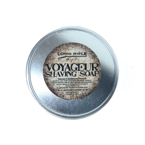 Long Rifle Shave Soap - Voyager