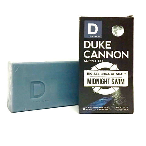 Duke Cannon Midnight Swim Bar Soap