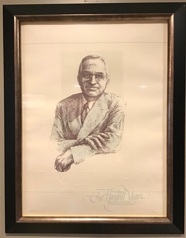 "Harry S Truman 28"" x 22"" Framed Limited Edition Print"