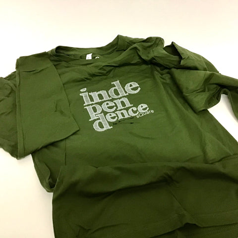 Long Sleeved Independence Square T-Shirt