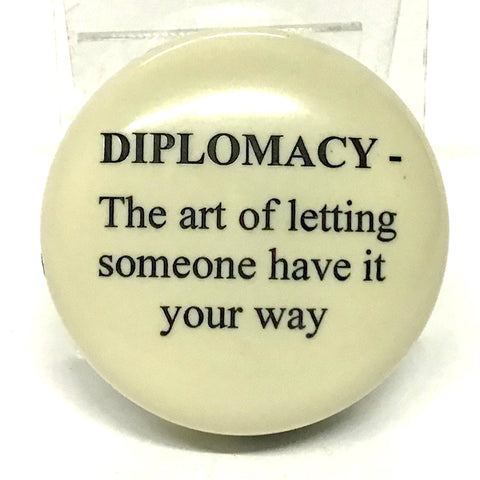 """Diplomacy"" Paperweight"