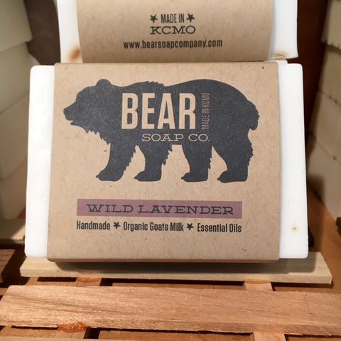 Bear Soap Wild Lavender Bar