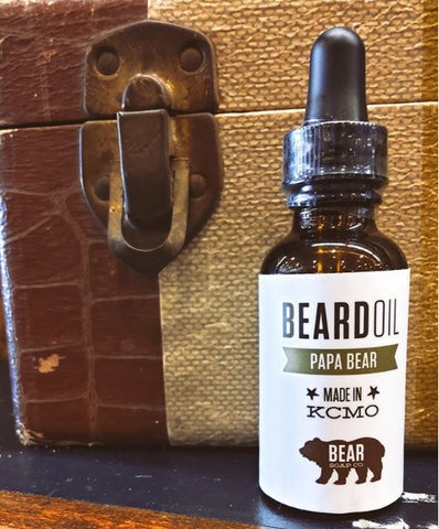 Bear Soap Bear Oil - Papa Bear