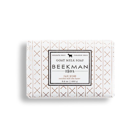 Beekman Goat Milk Soap Bar - Oak Moss