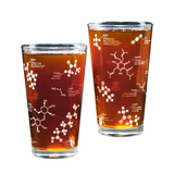 Cognitive Surplus Beer Chemistry Pint Glass Set of Two