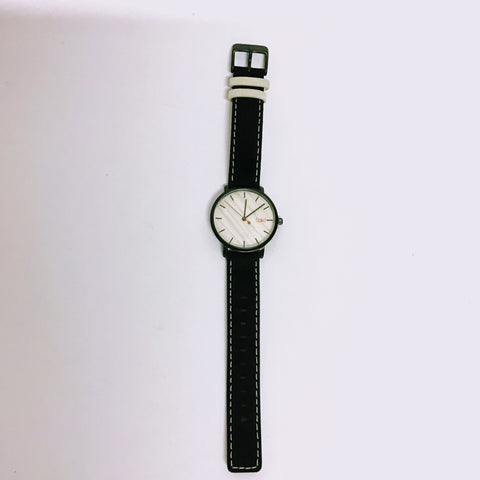 Taki Watch - Woodbury Cream/Black