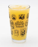 Cognitive Surplus Great Beards of Science Pint Glass