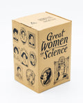 Cognitive Surplus Great Women Of Science Pint Glass