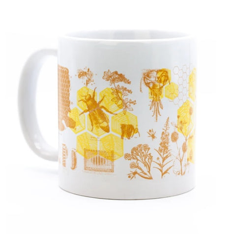 Cognitive Surplus Honey Bees Mega Mug