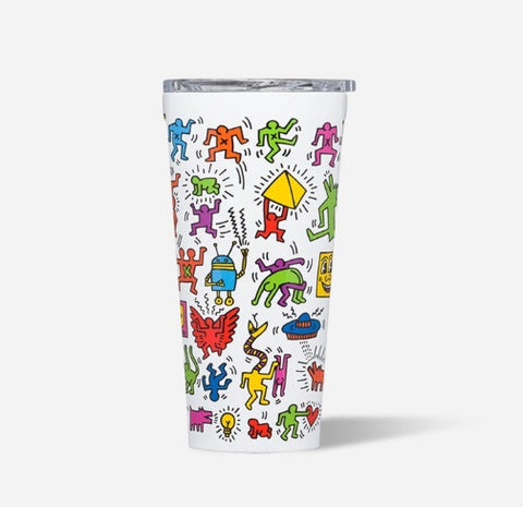 Corkcicle 16oz Tumbler - Keith Haring - Pop Party
