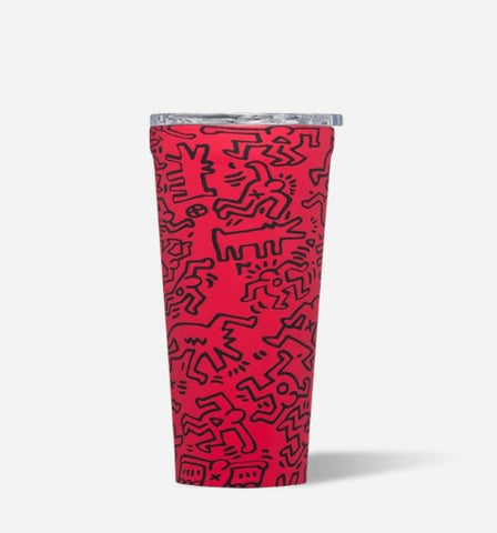 Corkcicle 16oz Tumbler - Keith Haring - Street Art