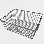 Wire Storage Basket w/ Handles