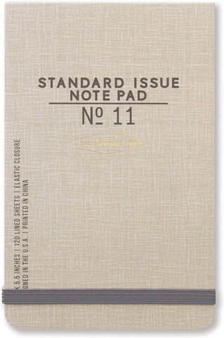 Standard Issue Notepad No. 11