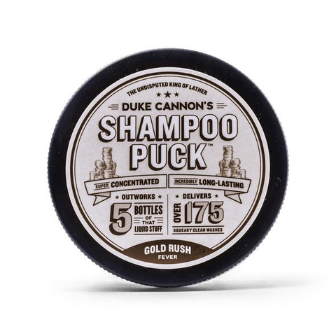 Duke Cannon Goldrush Shampoo Puck