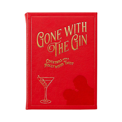 Gone With The Gin Leather Bound Book