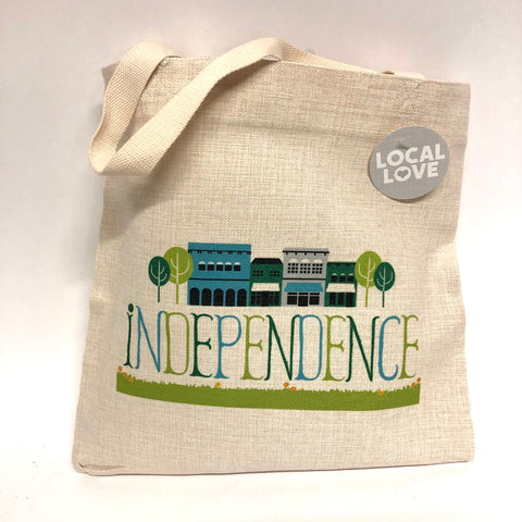 "Independence ""My Town""  Tote"