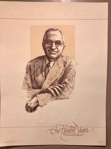 Harry S Truman Limited Edition Print