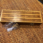 Wood Cribbage Game