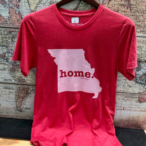 The HOME T - Missouri - Light Red