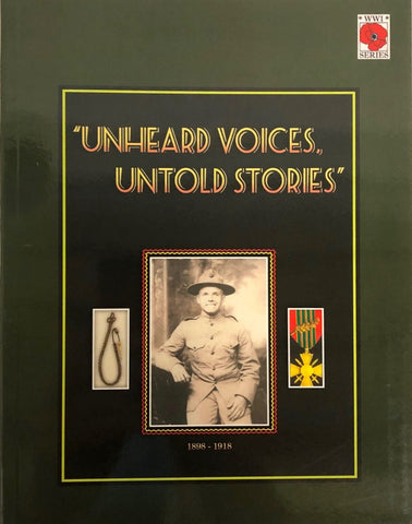 Unheard Voices, Untold Stories Vol. 1 by Nancy Cramer
