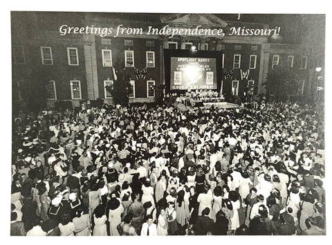 Independence - Gathering at The Eastern Jackson County Courthouse - Post Card