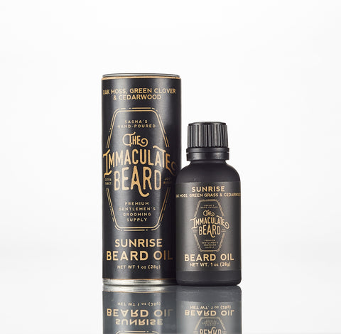 The Immaculate Beard Sunrise Beard Oil