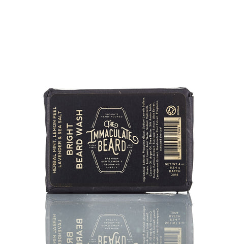 The Immaculate Beard Bright Beard Wash Bar