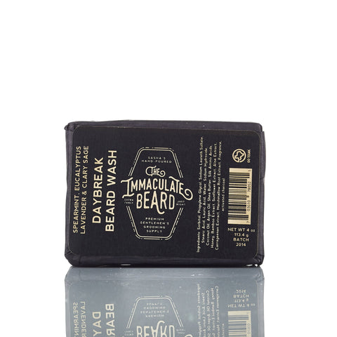 The Immaculate Beard Daybreak Beard Wash Bar