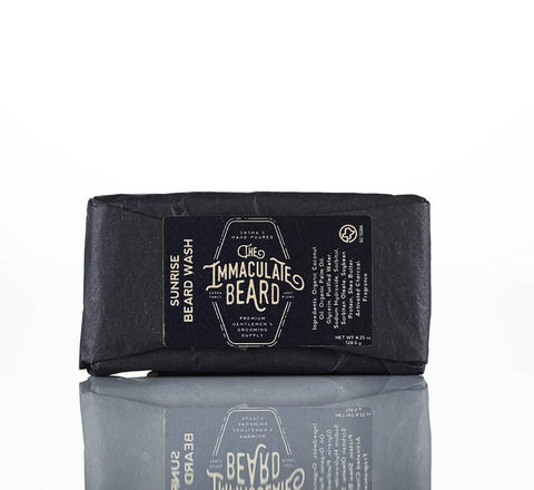 The Immaculate Beard Sunrise Beard Wash Bar
