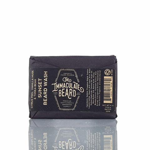 The Immaculate Beard Sunset Beard Wash Bar