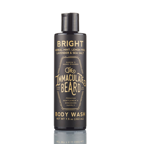 The Immaculate Beard Bright Body Wash