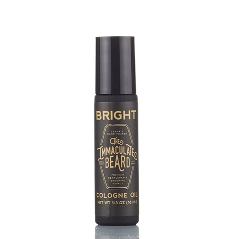 The Immaculate Beard Bright Roll-on Cologne Oil