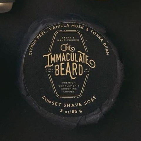 The Immaculate Beard Sunset Shave Soap