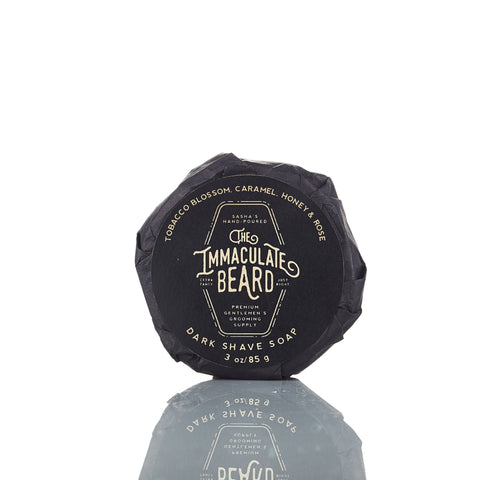 The Immaculate Beard Dark Shave Soap