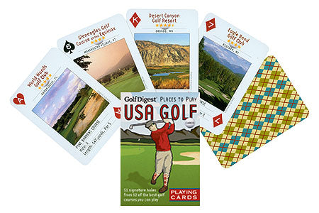 USA Golf Playing Cards