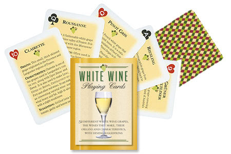 White Wine Cards