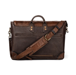 Theodore Leather Messenger Bag