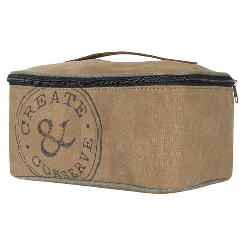 "Canvas ""Create & Conserve"" Dopp Kit"