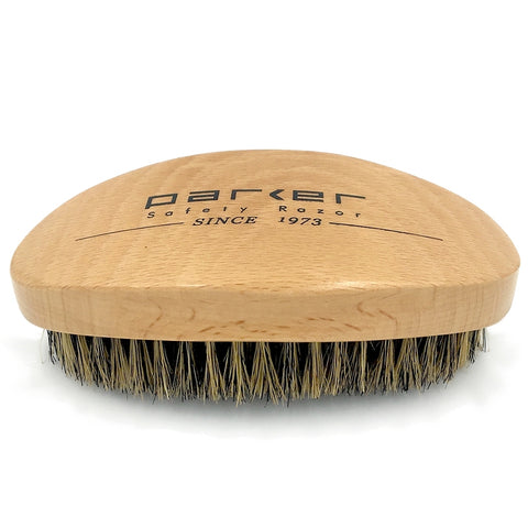 Parker 100% Boar Bristle Beard and Hair brush