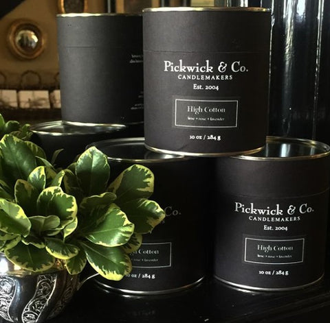 Pickwick & Co. Candle - High Cotton