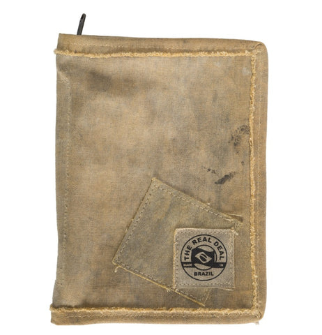 The Real Deal Brazil Recycled-Tarp Book/IPad case
