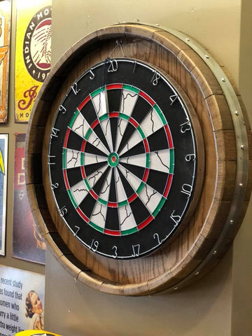 Barrel Head Dart Board