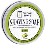 Taconic Lime Glycerin Shave Soap