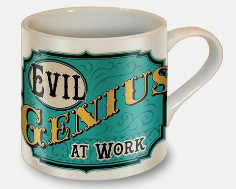 "Mug - ""Evil Genius At Work"""